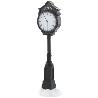 Department 56 Town Clock - Accessory Buildings and Figurines by Department 56