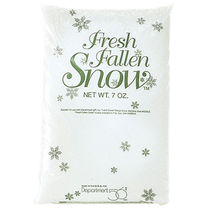 Bag of Fresh Fallen Snow - Village Landscapes and Trees by Department 56
