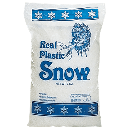 Bag of Real Plastic Snow - Village Landscapes and Trees by Department 56
