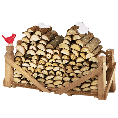 Log Pile - Accessory Buildings and Figurines by Department 56