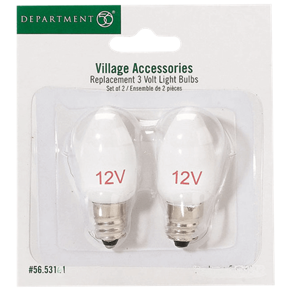 Replacement 12V Light Bulbs - Replacement Bulbs and Power Cords by Department 56