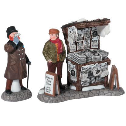 London Newspaper Stand - Dickens Village by Department 56