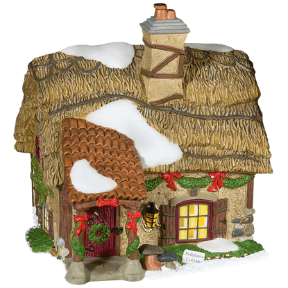 Hollyberry Cottage - Dickens Village by Department 56