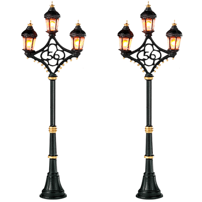 Fifty-Six Street Lights - Village Lighting by Department 56