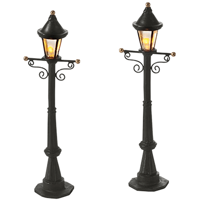 Uptown Street Lights - Village Lighting by Department 56