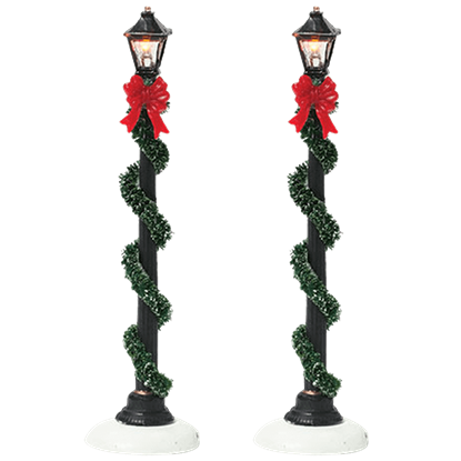 Small Town Street Lamps - Village Lighting by Department 56