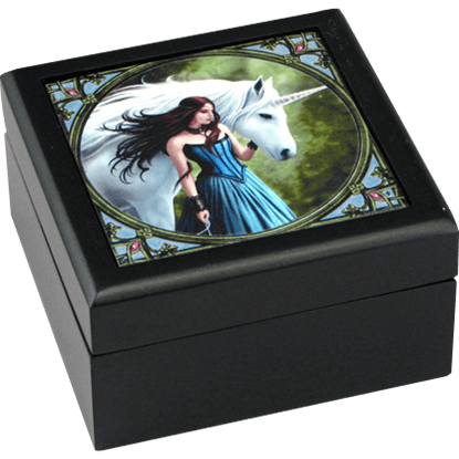 Enchanted Unicorn Tile Box