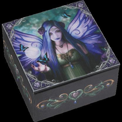 Anne Stokes Mystic Aura Fairy Box