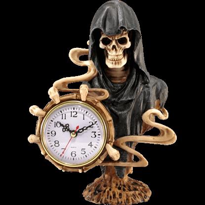 Grim Reaper Desk Clock