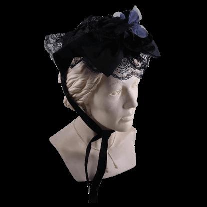 Elegant Steampunk Women's Teardrop Hat