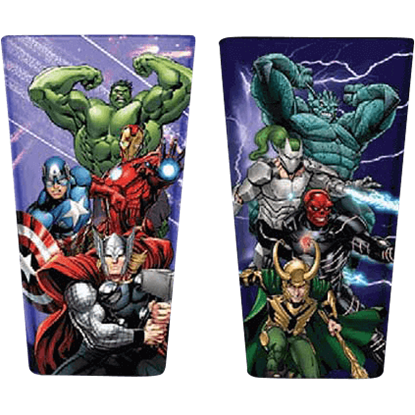 Avengers Assemble Drinking Glass Set