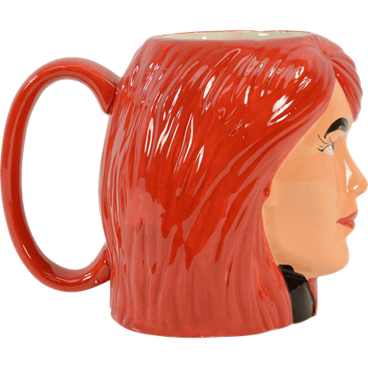 Black Widow Sculpted Mug