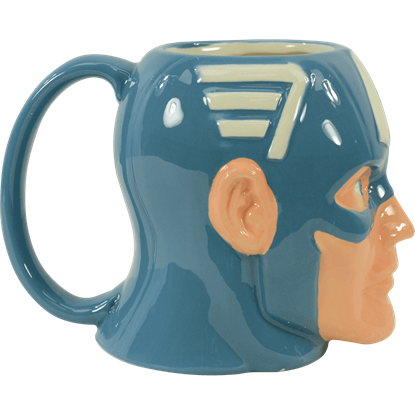 Captain America Sculpted Mug