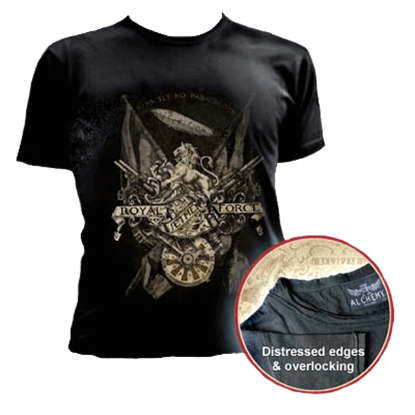 Royal Aether Force Fitted T-Shirt