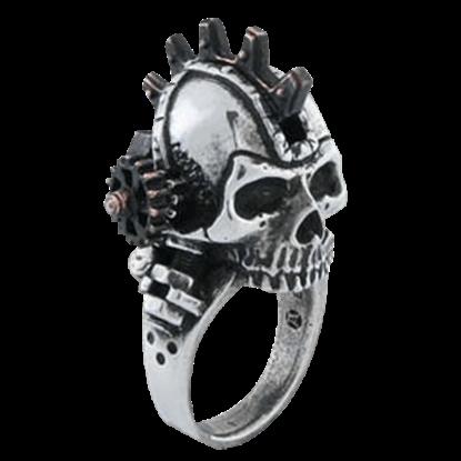 Steamhead Gearpunk Ring