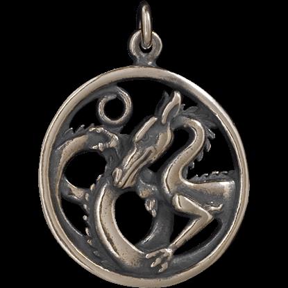 Dragon Circle Pendant