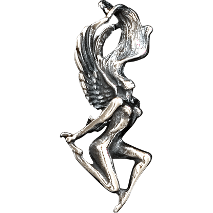 3D Frolicking Fairy Pendant