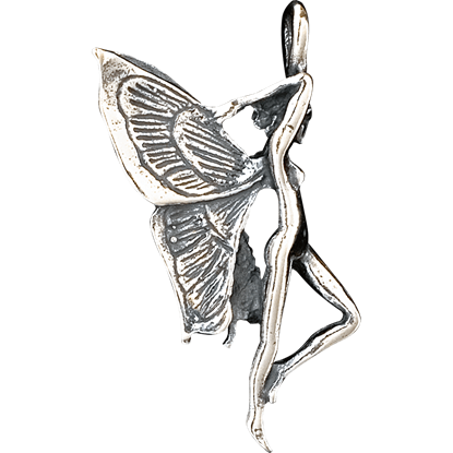 3D Fairy Profile Pendant