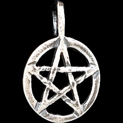Mini Classic Pentacle Pendant