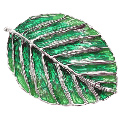 Elven Leaf Brooch