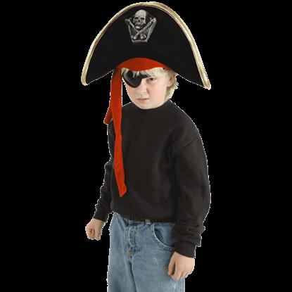 Kids Regal Pirate Hat