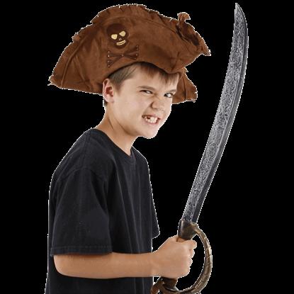 Kids Rugged Pirate Hat