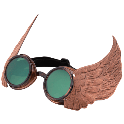 Gold Winged Goggles