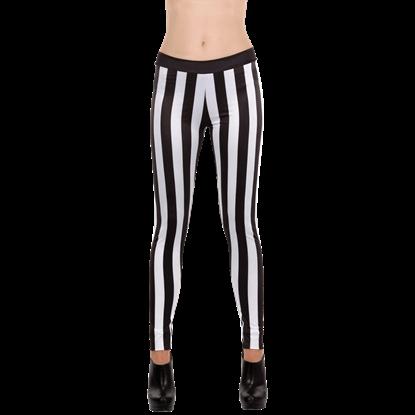 Vertical Striped Leggings