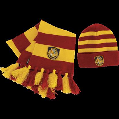 Hogwarts Knit Hat and Scarf Set