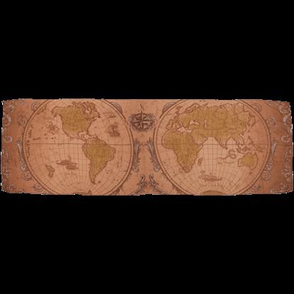 Ye Olde World Map Lightweight Scarf