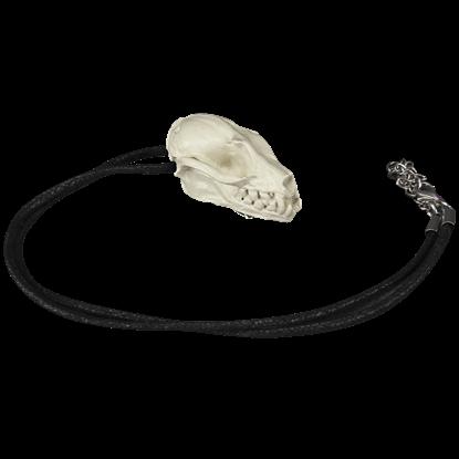 Bat Skull Necklace Pin