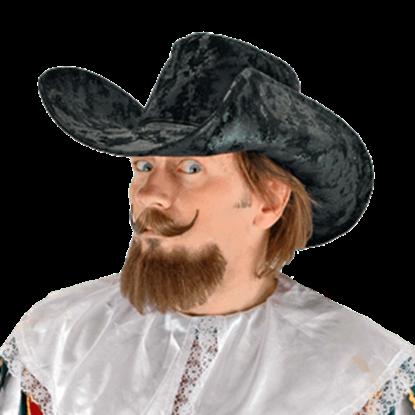 Black Musketeer's Hat