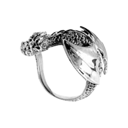 Resting Dragon Ring