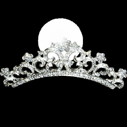 Crystal Pave Comb Tiara