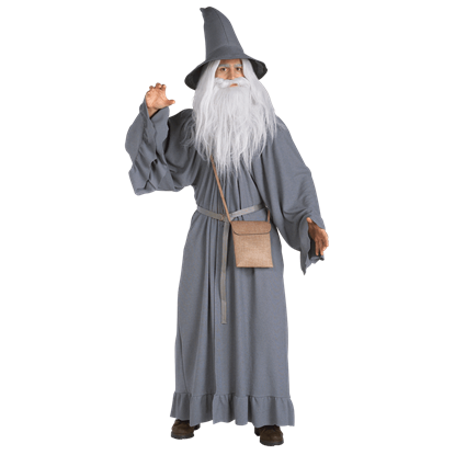 LOTR Adult Gandalf the Grey Costume