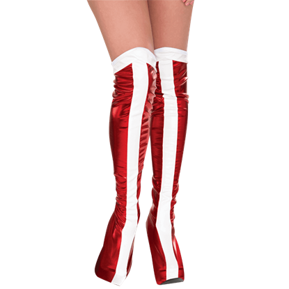 Adult Wonder Woman Boot Tops
