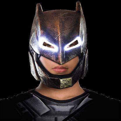 Adult Armoured Batman Light-Up Mask