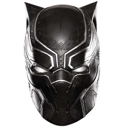 Adult Civil War Black Panther Full Mask