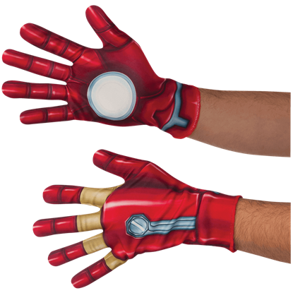 Adult Civil War Iron Man Gloves
