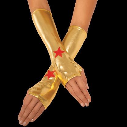 Adult Wonder Woman Gauntlets