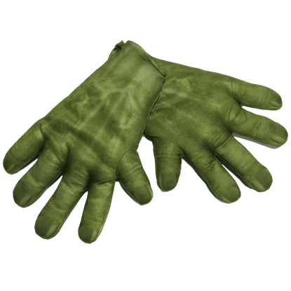 Adult Avengers 2 Hulk Gloves