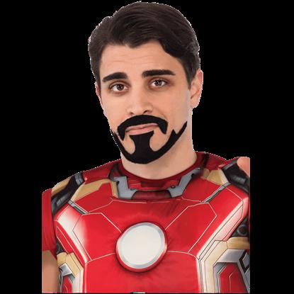 Adult Iron Man Facial Hair Set