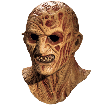 Burned Ghoul Deluxe Overhead Mask