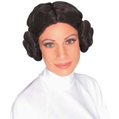 Adult Princess Leia Wig