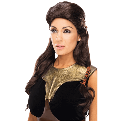 300 Rise of an Empire Queen Gorgo Deluxe Wig