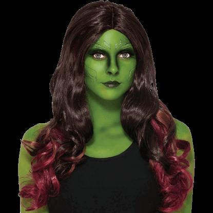 Adult Gamora Wig