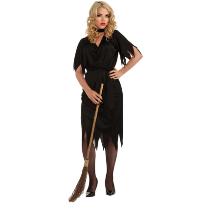Womens Hildegard Witch Costume