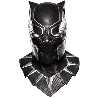 Adult Black Panther Overhead Latex Mask
