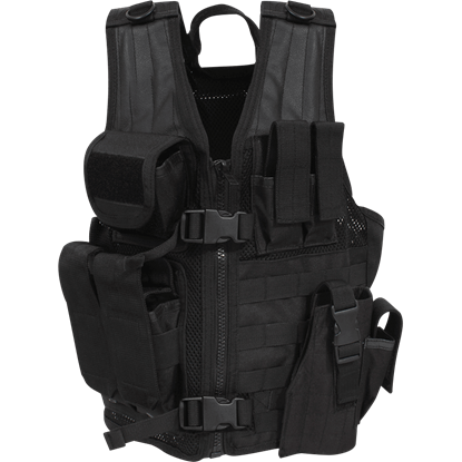 Quick Draw Black Tactical Vest
