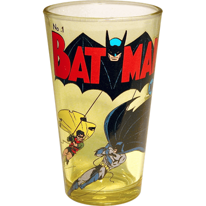Original Batman Cover Pint Glass
